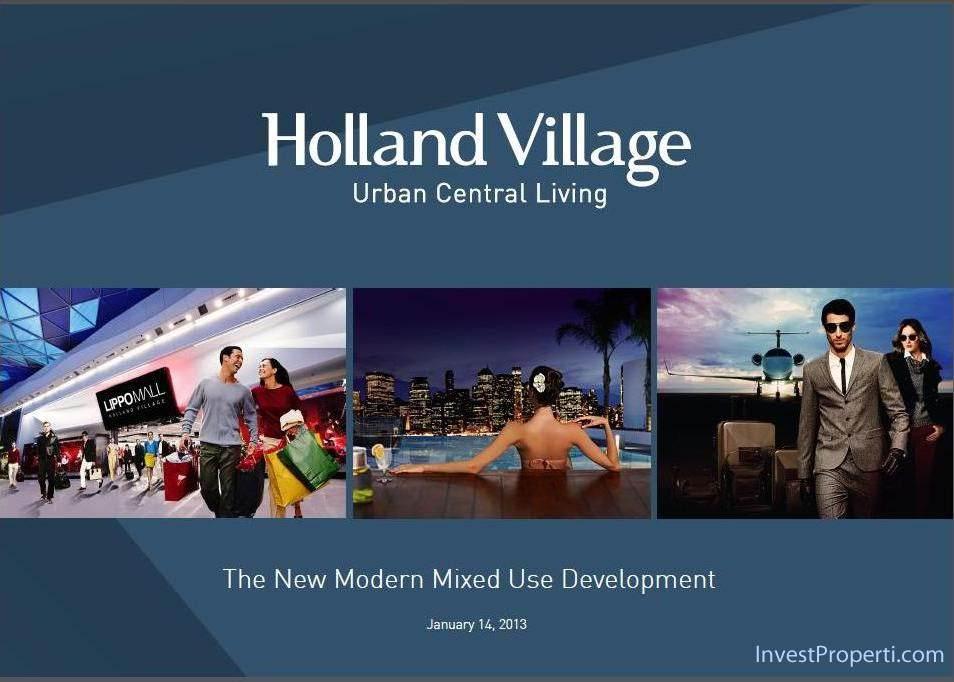 Holland Village apartemen 1