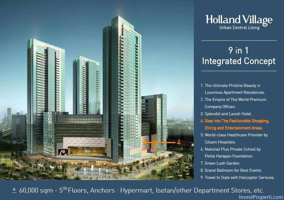 Holland Village Apartemen brosur-12
