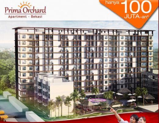 apartemen prima orchard bekasi