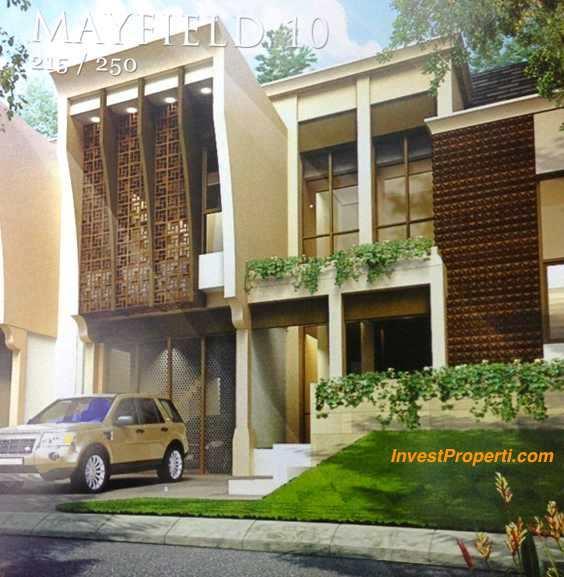 Rumah Cluster Mayfield 10 Greenwich Park BSD City