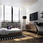 Design Kamar Apartemen Paddington Heights