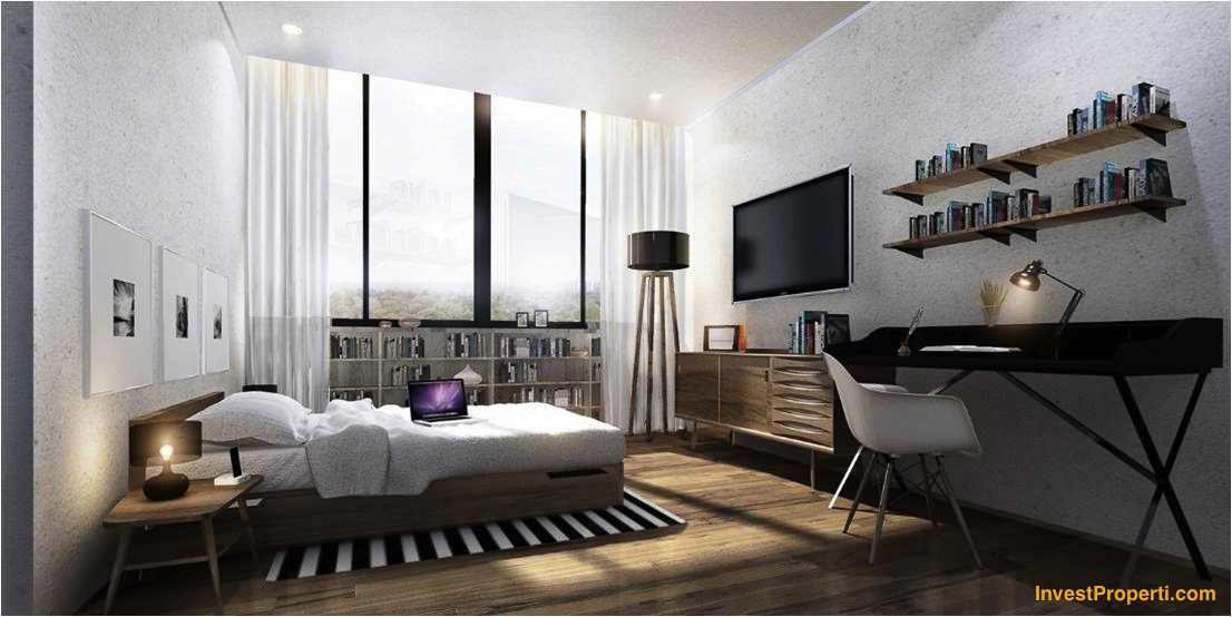 Design Kamar Apartemen Paddington Heights