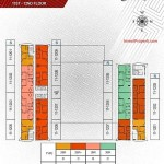 Floorplan lt1-12 Apartemen Paddington Heights Alam Sutera