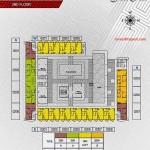 Floorplan lt2 Apartemen Paddington Heights Alam Sutera