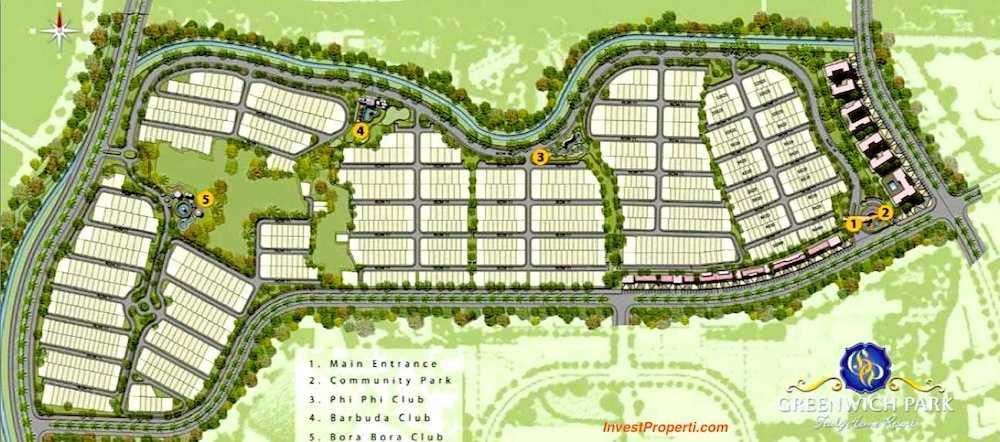 Masterplan Cluster Mayfield Greenwich Park BSD City