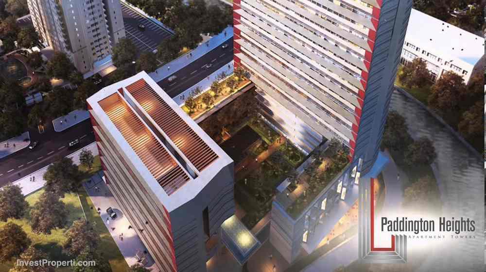 Top View Apartemen Paddington Heights Alam Sutera