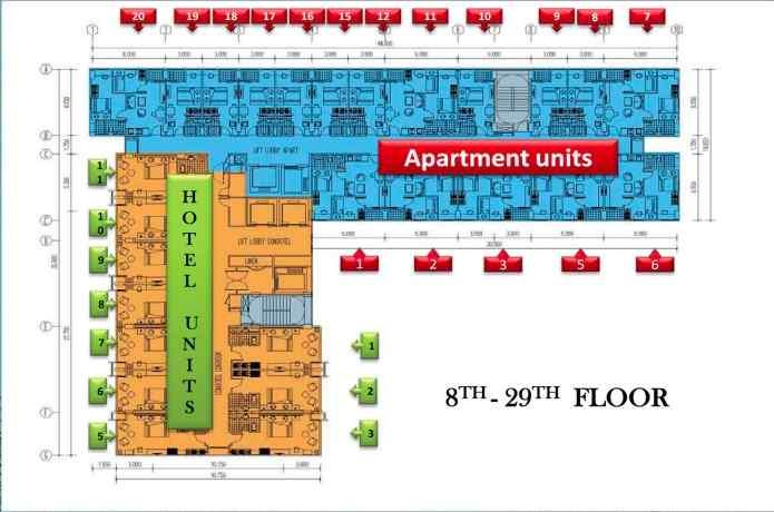 8-29th Floorplan De-Papilio Tamansari Surabaya