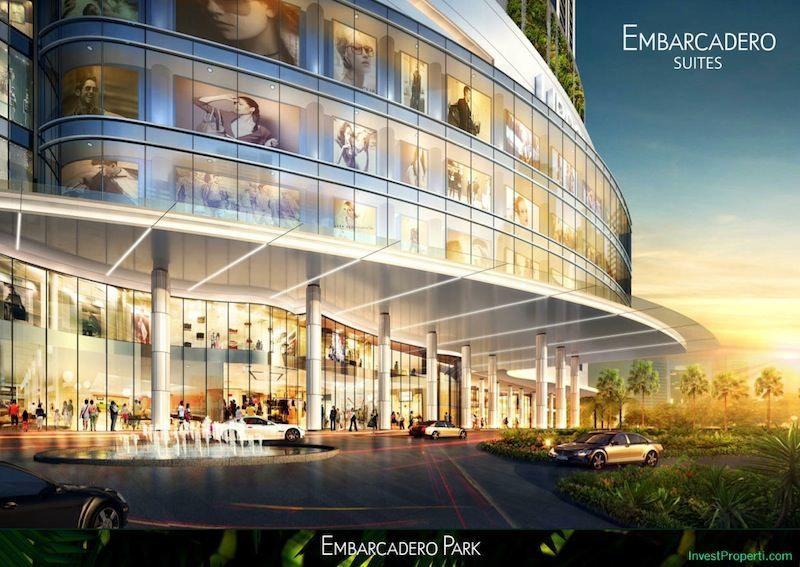 Embarcadero Bintaro Commercial Area