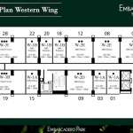 Floor Plan Embarcadero Suites Apartemen Bintaro West Tower