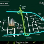 Map Apartemen Embarcadero Bintaro