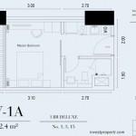 TIpe Unit 1BR Deluxe Embarcadero Suite Apartemen