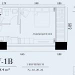 TIpe Unit 1BR Premium Embarcadero Suite Apartemen