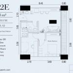 TIpe Unit 2BR Deluxe 2E Embarcadero Suite Apartemen
