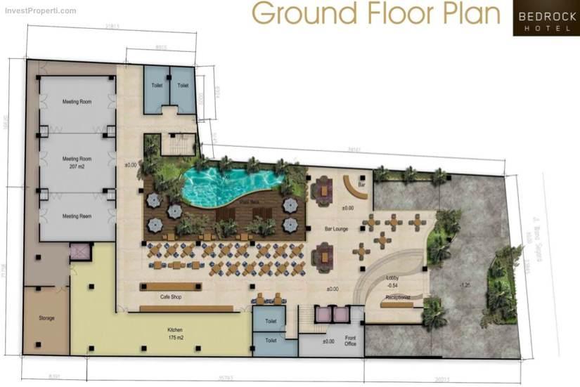 Ground Floor Bedrock Hotel Kuta
