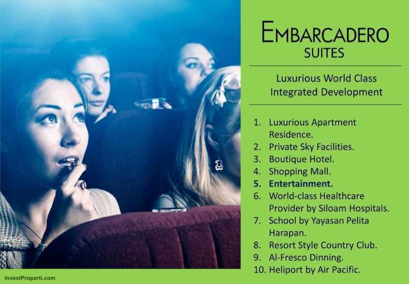 Brosur Apartemen Embarcadero Suites Bintaro 5