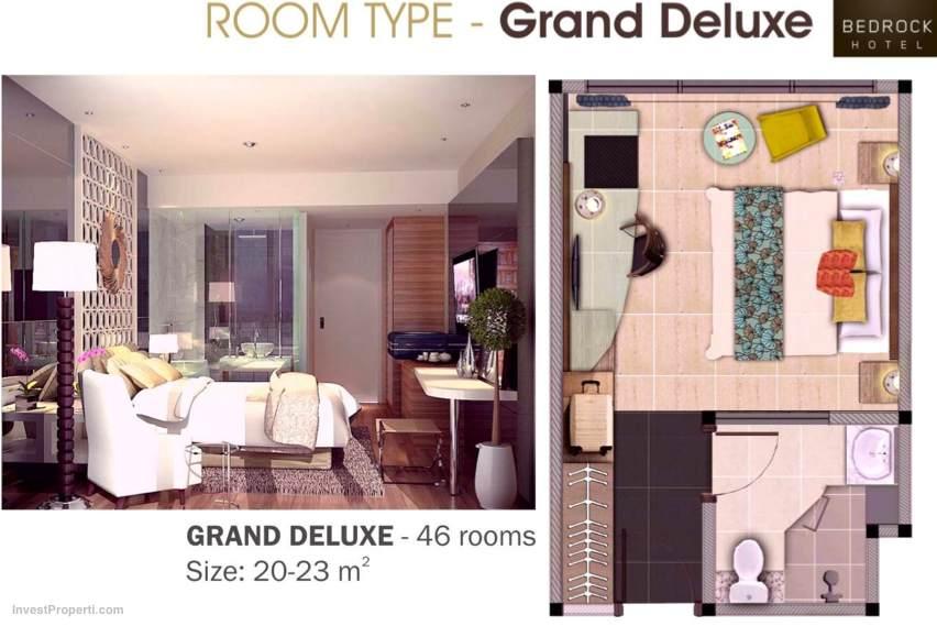 Grand Deluxe Room Type Bedrock Hotel Bali