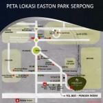 Peta Lokasi Easton Park Serpong