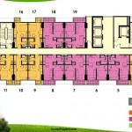 Floorplan Tower Orchidea Apartemen Casa De Parco