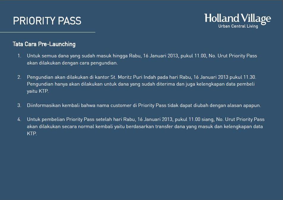 Holland Village Apartment Brosur 39