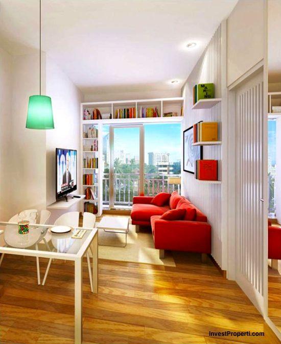 Interior Design 1BR Apartment Casa de Parco Bsd