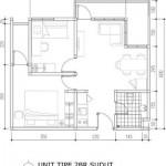 Tipe 2BR Sudut Apartemen Bintaro Icon