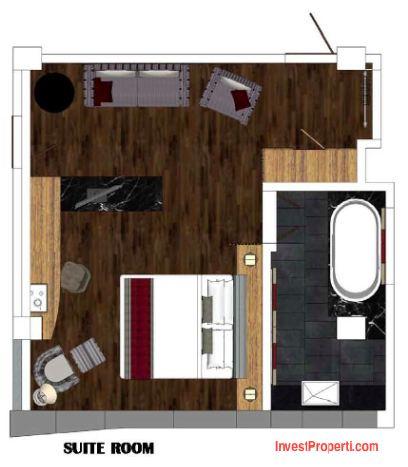 Suite Room Horison Jimbaran Bali