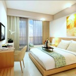 Design Deluxe Room Horison Sunset Road Kuta