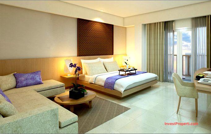 Design Junior Suite Room Horison Sunset Road Kuta