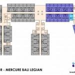 Floor Plan Mercure Legian Bali Condotel Lantai 5