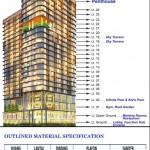 Floor Plan Apartemen Grand Eschol Karawaci