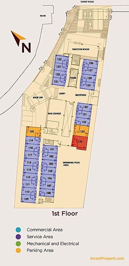 1st Floor Plan Horison Sunset Road