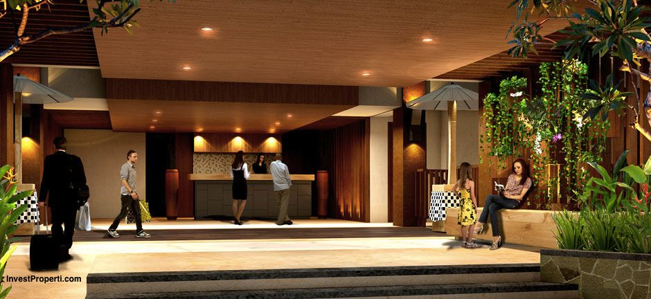 Loby Hotel Horison Sunset Road