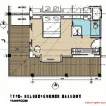 Deluxe with Balcony Room Mercure Legian Condotel