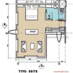 Suite Room Mercure Legian Condotel