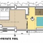 Superior Private Pool Room Mercure Legian Condotel