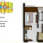 Tipe Unit 1 Bedroom