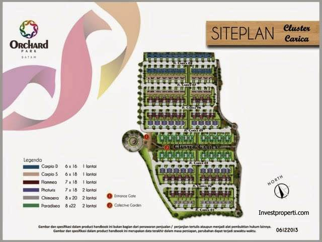 Site Plan Cluster Carcia
