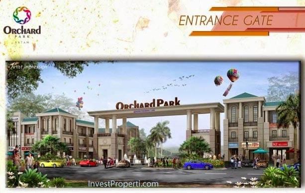 Entrance Gate Orchard Park Batam