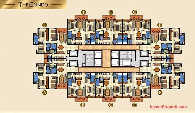 Floor Plan The Condo TA Residences