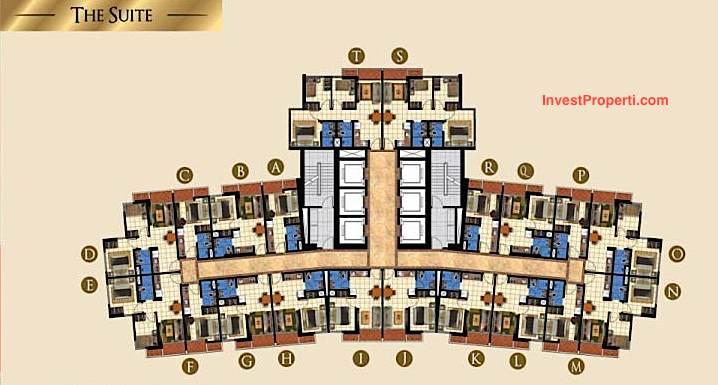 Floor Plan The Suite TA Residences