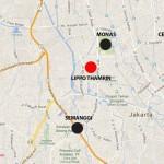 Lippo Thamrin Location