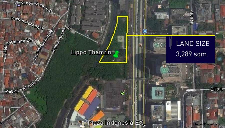 Lippo Thamrin Office Map