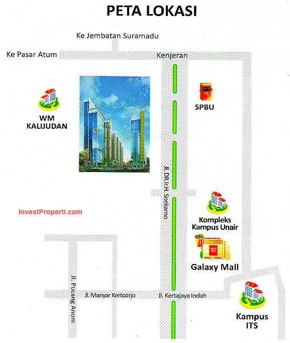 Map Puncak Dharmahusada