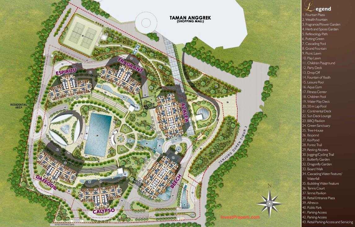 site-plan-taman-anggrek-residence