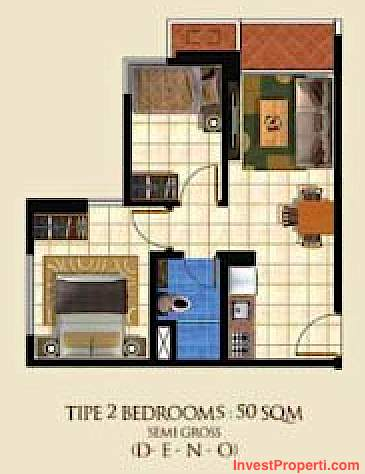 Tipe 2 BR - The Suite