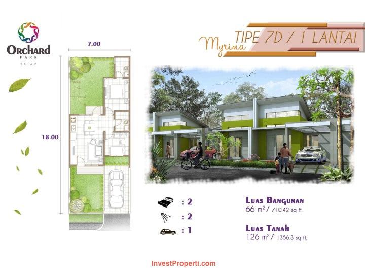 Tipe Myrina cluster Vitis Estate Orchard Park Batam