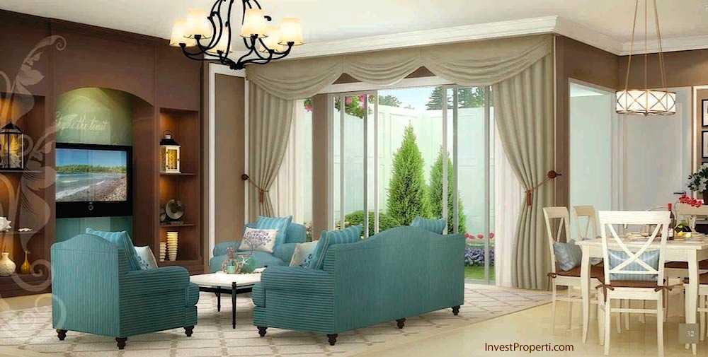 Design Livingroom Whitsand Tipe 8 Greenwich Park BSD