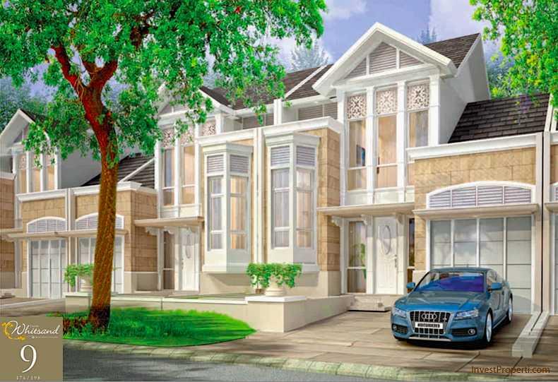 Design Rumah Cluster Whitsand Tipe 9 Greenwich Park BSD