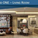 Design Living Room Holland Village Apartemen