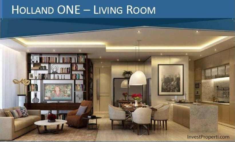 Design Living Room Holland Village Apartemen